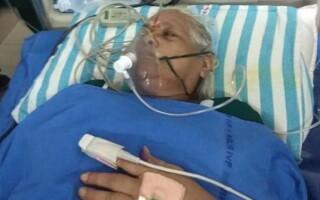 74-летняя жена и 78-летний муж, ставшие недавно родителями, находятся при смерти